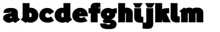 Generation Headline Elephant Font LOWERCASE