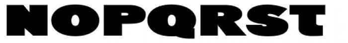 Generation Headline Extended Elephant Font UPPERCASE