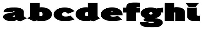 Generation Headline Extended Elephant Font LOWERCASE