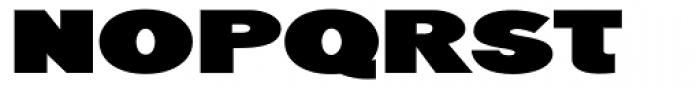 Generation Headline Extended Heavy Font UPPERCASE