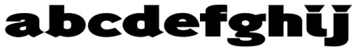 Generation Headline Extended Heavy Font LOWERCASE