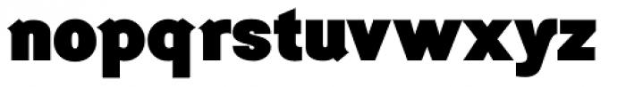 Generation Headline Heavy Font LOWERCASE