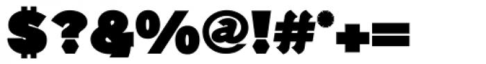 Generation Headline Mammoth Font OTHER CHARS