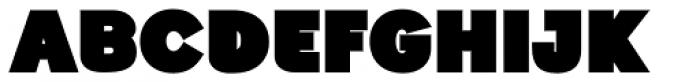Generation Headline Mammoth Font UPPERCASE