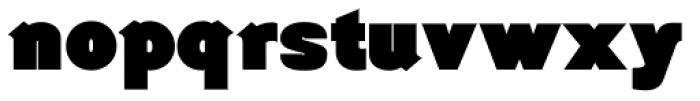 Generation Headline Mammoth Font LOWERCASE