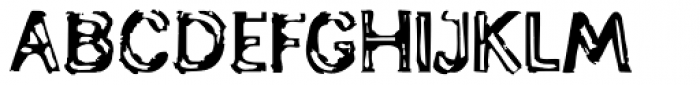 Generation Lost Font UPPERCASE