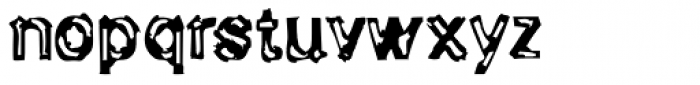 Generation Lost Font LOWERCASE
