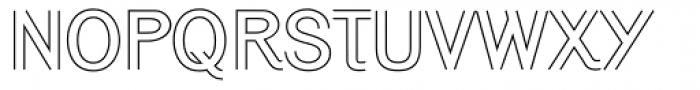 Generation Open Font UPPERCASE
