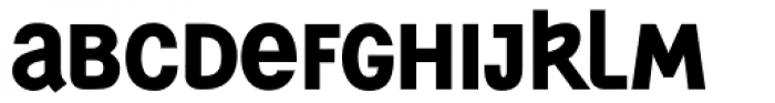 Generation Uncial ExtraBold Font UPPERCASE