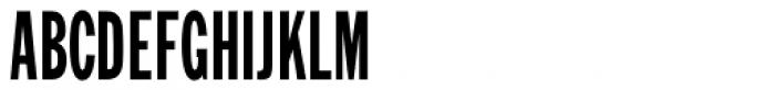 Generic Gothic JNL Font UPPERCASE