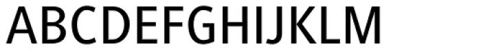 Generis Sans Com Medium Font UPPERCASE