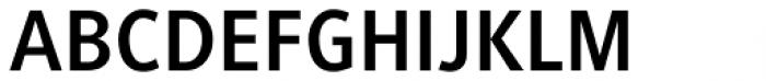 Generis Sans Pro Bold Font UPPERCASE