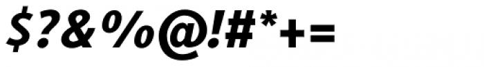 Generis Sans Std Heavy Italic Font OTHER CHARS