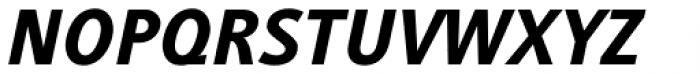 Generis Sans Std Heavy Italic Font UPPERCASE