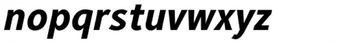 Generis Sans Std Heavy Italic Font LOWERCASE