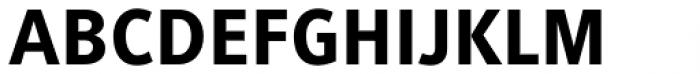 Generis Sans Std Heavy Font UPPERCASE