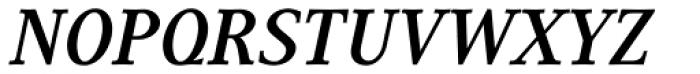 Generis Serif Com Bold Italic Font UPPERCASE