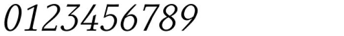 Generis Serif Com Italic Font OTHER CHARS
