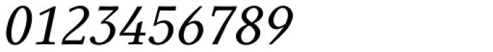 Generis Serif Com Medium Italic Font OTHER CHARS