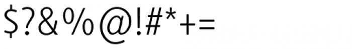 Generis Simple Pro Light Font OTHER CHARS