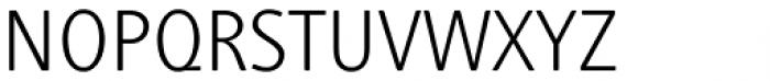 Generis Simple Pro Light Font UPPERCASE