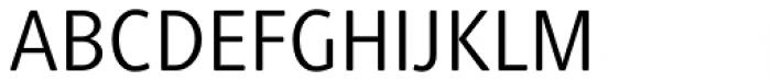 Generis Simple Pro Regular Font UPPERCASE