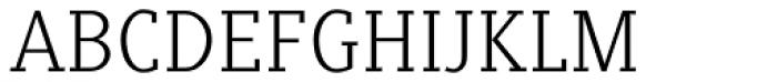 Generis Slab Com Light Font UPPERCASE