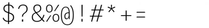 Generisch Mono Light Font OTHER CHARS