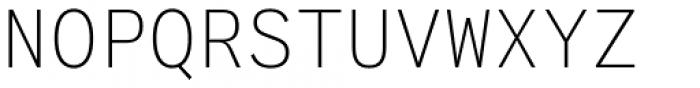 Generisch Mono Light Font UPPERCASE