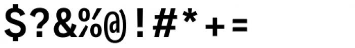 Generisch Mono Semi Bold Font OTHER CHARS