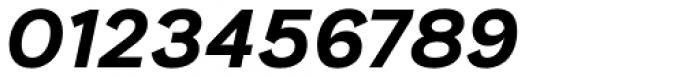 Generisch Sans Bold Slanted Font OTHER CHARS