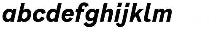 Generisch Sans Bold Slanted Font LOWERCASE