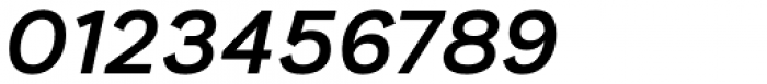 Generisch Sans Semi Bold Slanted Font OTHER CHARS