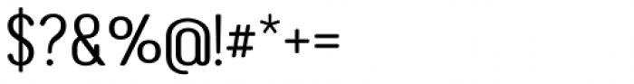 Genesa Regular Font OTHER CHARS