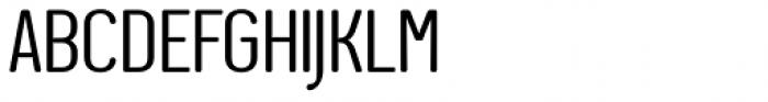 Genesa Regular Font UPPERCASE