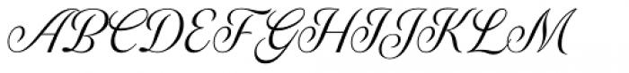 Genia Regular Font UPPERCASE