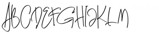 Genit Regular Font UPPERCASE