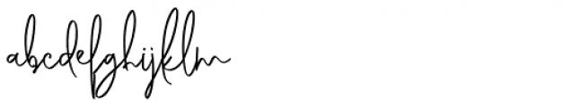 Genit Regular Font LOWERCASE