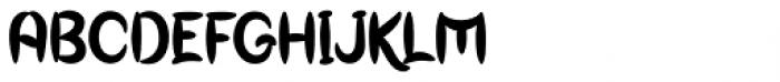 Genoock Font UPPERCASE