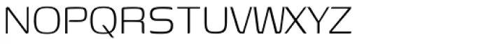 Genos Light Font UPPERCASE