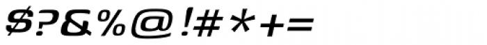 Genos Medium Italic Font OTHER CHARS