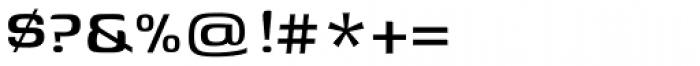 Genos Medium Font OTHER CHARS