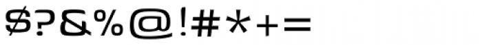 Genos Regular Font OTHER CHARS
