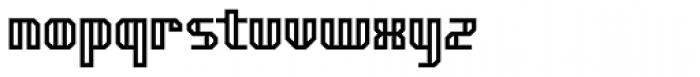 Genotype HBRKPro Font LOWERCASE