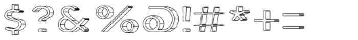Genplan Pro Blueprint Font OTHER CHARS