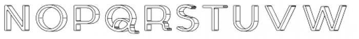 Genplan Pro Blueprint Font UPPERCASE
