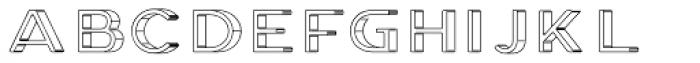 Genplan Pro Blueprint Font LOWERCASE