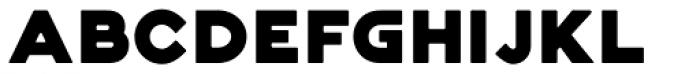 Genplan Pro Solid Font LOWERCASE