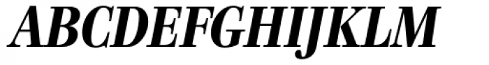 Genre Bold Italic Font UPPERCASE
