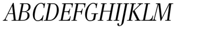 Genre Italic Font UPPERCASE